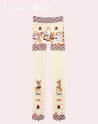 Rabbit Letter Tights