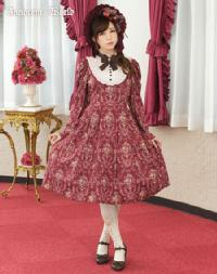 Innocent Rose Victorian sleeve one-piece dress
